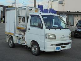 ダイハツ ハイゼットトラック 4WD 高所作業車 エアコンパワステ AICHI製高所作業車 フロア5速