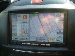 シンプルな使い勝手の良いメモリーナビを装備。ラジオにCD、ワンセグTVに対応。