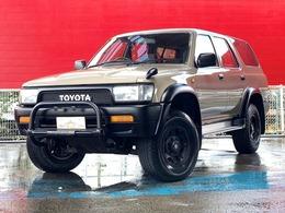 トヨタ ハイラックスサーフ 3.0 SSR-X ワイドボデー 4WD 1オーナー・TOYOTAクラシックエンブレム