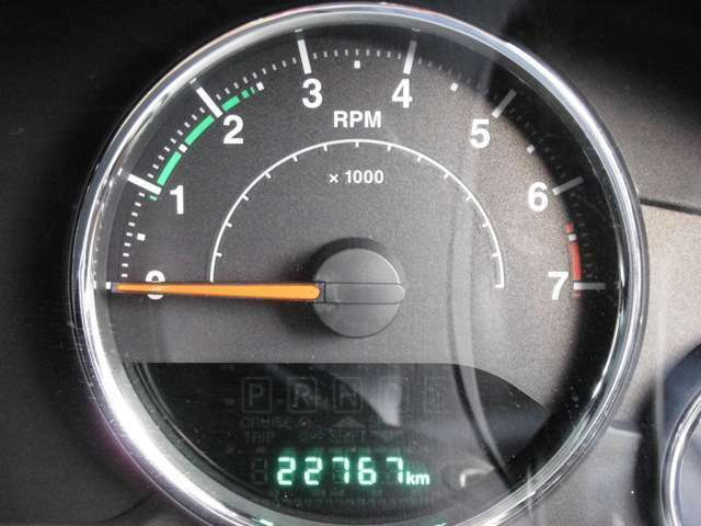 走行距離は22767kmです♪非常に低走行で状態もいい車両です♪