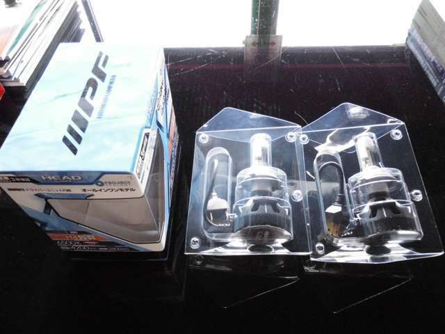 Aプラン画像:人気のIPF製LEDヘッドライトバルブ取り付けプランです♪車検対応/メーカー保証3年の日本製です♪