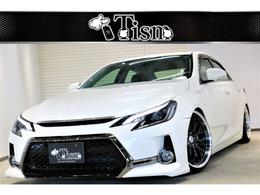 トヨタ マークX 2.5 250G リラックスセレクション ブラックリミテッド ジーズ仕様新19AW新テイン車高調黒内装ETC
