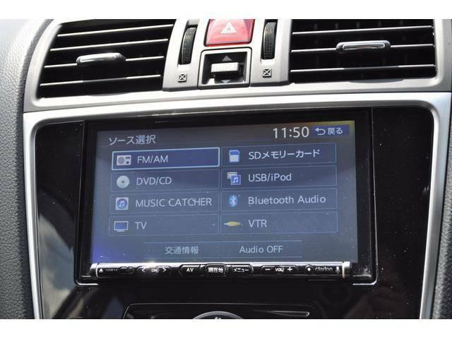 ブルートゥースやUSBなどで お持ちのミュージックプレーヤーを車のオーディオで再生可能です