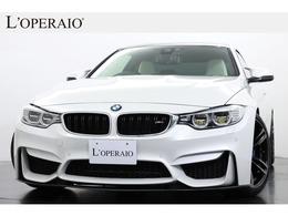 BMW M4クーペ M インディビデュアル エディション M DCT ドライブロジック 国内10台限定 1オーナー BMW M Performance