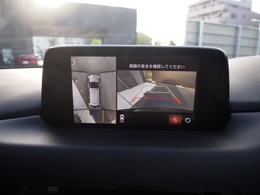 360°カメラ付きで運転が苦手な方も車庫入れラクラク!狭い駐車場安心です!!