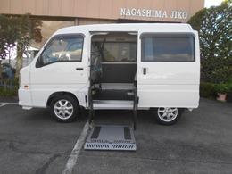 スバル サンバー トランスケア車椅子電動リフト付車 車椅子移動車ワンオ-ナ-キ-レス