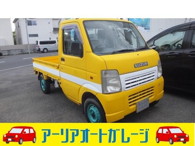 5速MT車のキャリィトラックが入庫しました。【車検を通した支払総額、なんと36万円!!!】お問合せは0066-9711-546090までお気軽にご連絡下さい。