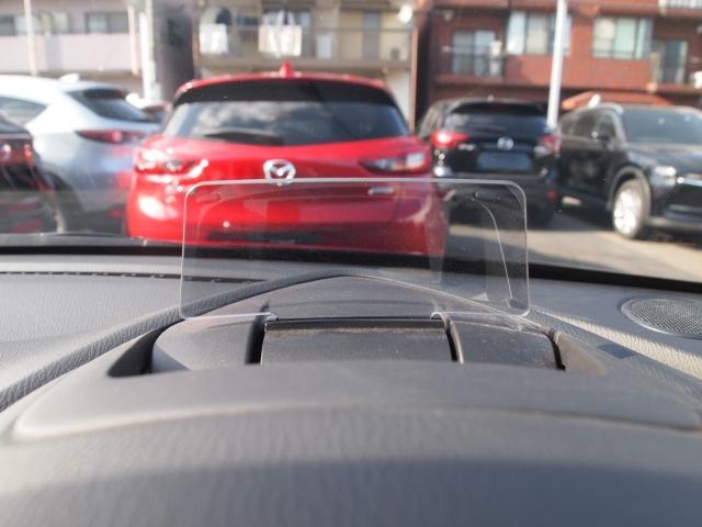 アクティブドライビングディスプレイで走行中視線をそらさず運転出来ます!!