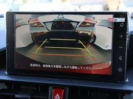 【 MOP バックカメラ 】ディスプレイで後方確認が可能です!