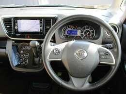 デイズルークスの運転席廻りになります。