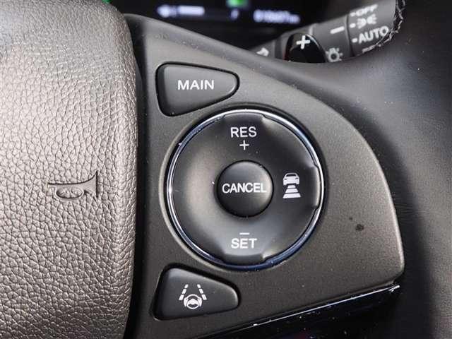 クルーズコントロール装備! 高速道路で一定速度で走行ができ便利!