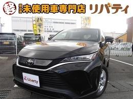 トヨタ ハリアー 2.0 S 届出済未使用車 禁煙車 衝突軽減ブレーキ