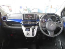 シンプルながら機能性溢れる運転席廻りです。視界がよく、運転しやすいですよ。