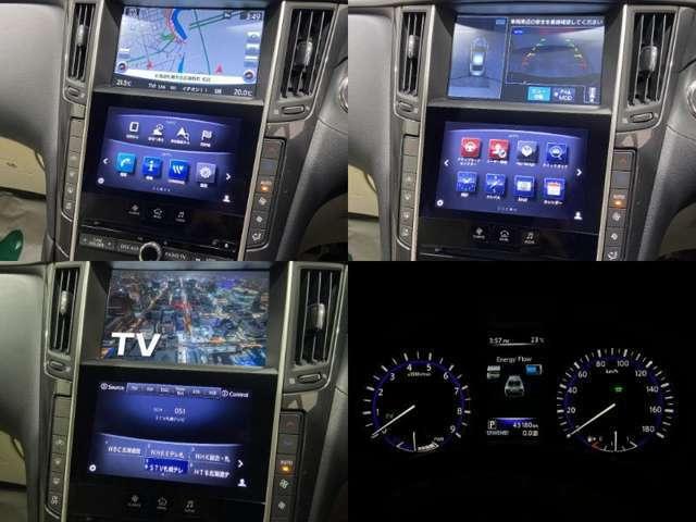 ナビはTV・DVD視聴/全方位モニタによるパーキングアシスト機能搭載