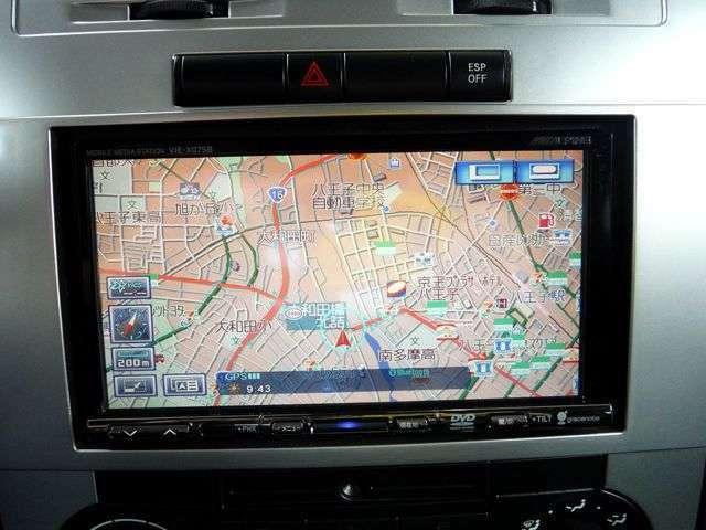 アルパイン製HDDナビ装備!フルセグの地デジも視聴可能です。