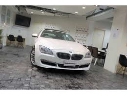 BMW 6シリーズグランクーペ 640i ACC1オナ黒革OP19AWヘッドアップDサンル-フ