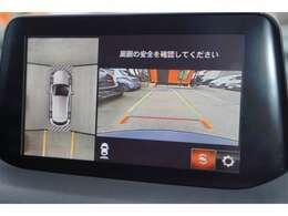 【360°ビューモニター】が装備されております。駐車時には大変重宝致します♪