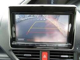 ★バックモニター★後退時に車両の後ろ側を画面に表示します。車庫入れなどでバックする際に後方確認ができ便利です。車庫入れが苦手な人もこれで安心。