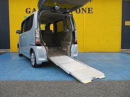 ホンダ N-BOX+ 660 G 車いす仕様車 電動ウインチ ナビバックカメラ