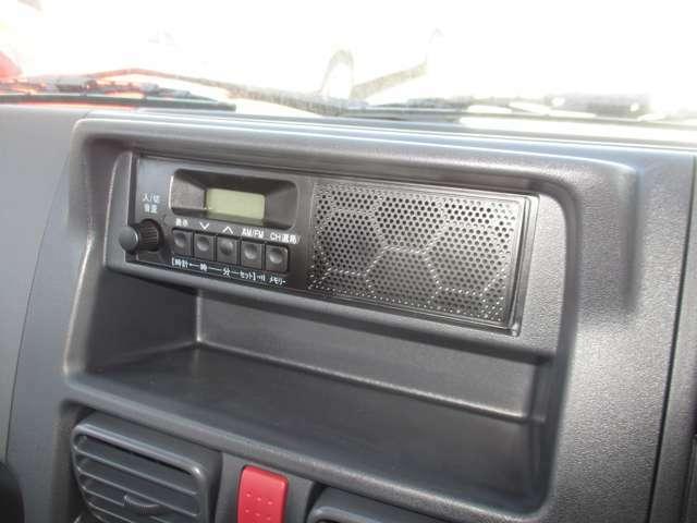 ラジオ付きです♪