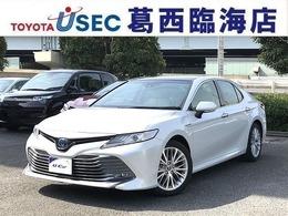 トヨタ カムリ 2.5 G レザーパッケージ TSSP本革 BSM ICS 置く充電 SR AC100V