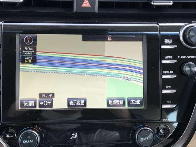 純正SDナビは使いやすく様々な機能が搭載!(ETCは別途装着となります)