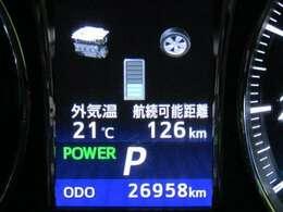 走行距離は少なく、およそ27,000kmです。