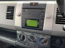 CDプレーヤー装備!お好きな音楽を楽しんでのドライブを(^^♪