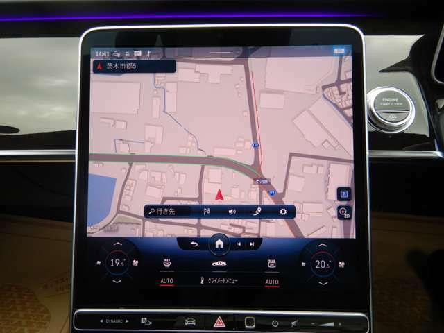 特徴的な12.8インチ有機ELディスプレイは車載される殆どのインターフェイスとして機能