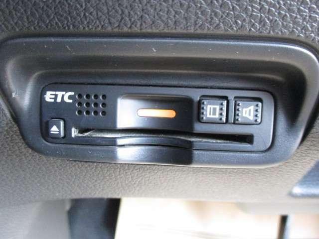 ETC車載器付、高速道路もラクラク通過