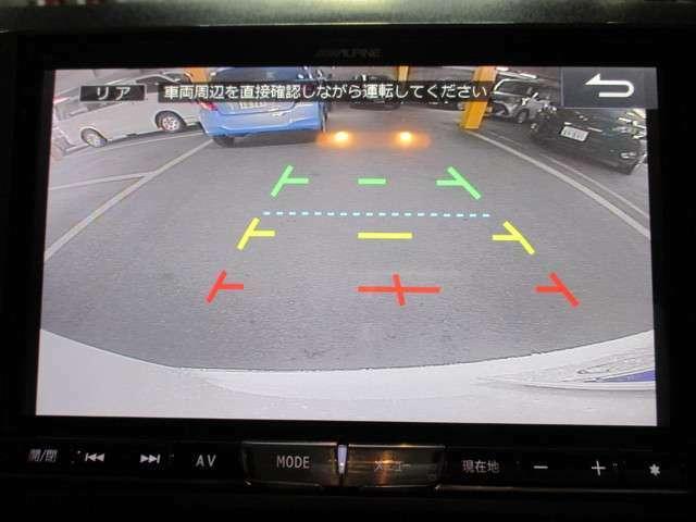 バックカメラが装着済み☆後方確認がしやすくなり、より安全に駐車できます☆
