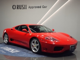 フェラーリ 360モデナ 3.6 6MT 純正BBS18AW チャレンジグリル D車