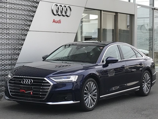 Audi アプルーブド川越に、【A8 60TFSI】の入庫です!!お問合せはフリーダイヤル【0066-9711-222859】へ