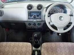 シンプルでキレイな車内。もっと快適にしたい方には、ナビやバックカメラの取付けもご案内しております。