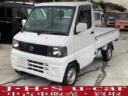 日産 クリッパートラック 660 SD 4WD 5速マニュアル エアバッグ 車検R4年9月