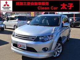 三菱 アウトランダー 2.4 24G 4WD HDDナビ ロックフォード ROARエアロ