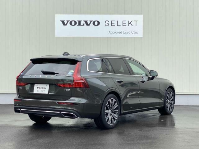 V60にはモダンで精悍なスカンジナビアンデザインと数々の革新的技術が注ぎ込まれています。