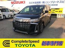 トヨタ アルファード 2.5 S Cパッケージ 新車ディスプレイオディオTRDコンプリート