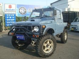 スズキ ジムニー 660 フルメタルドア CC 4WD 幌車 リフトアップ 全塗装済