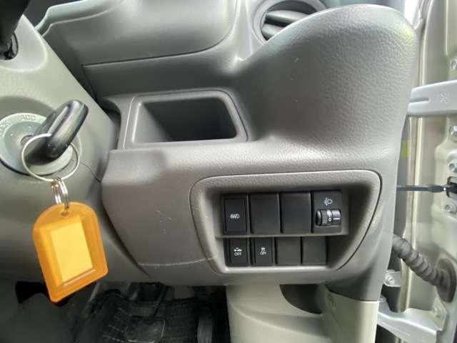 ハイルーフ パートタイム4WD レーダーブレーキサポート キーレスABS 安全装置 ホイール付きスタッドレス1セット有ります メーカー保証します。