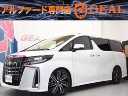 トヨタ アルファード 2.5 S Cパッケージ 新20AW車高調10型ナビ三眼サンルーフ