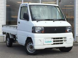 三菱 ミニキャブトラック 660 Vタイプ 4WD ACエアコン/パワステ/ゴムFマット/バイザー