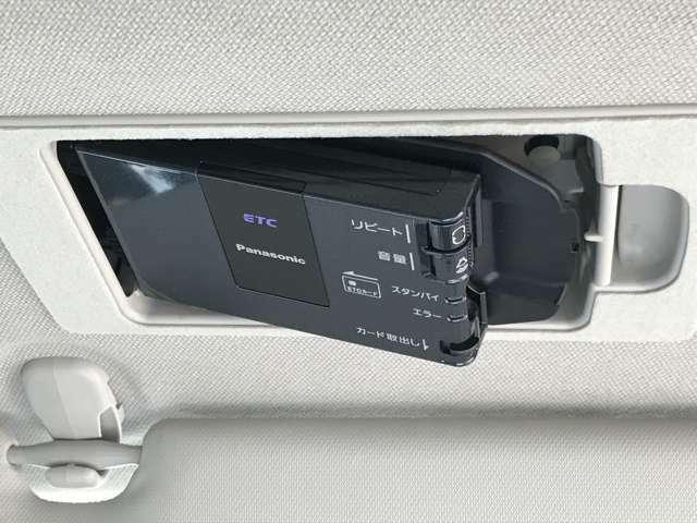 ☆サンバイザーの裏に、ETC専用のボックスを設置。見た目もスッキリですし、盗難防止にも寄与します。☆