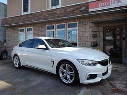 BMW 4シリーズグランクーペ 420i Mスポーツ ベージュレザーインテリア 1オーナ