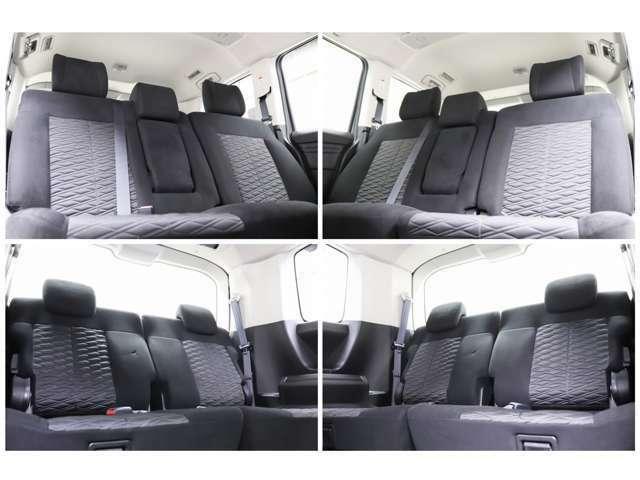 セカンドシートも広々としていてとても清潔感が御座います。大人数でのドライブでは大活躍ですね(*^^)vサードシートを格納して頂ければとても広々としたラゲッジスペースとなります。