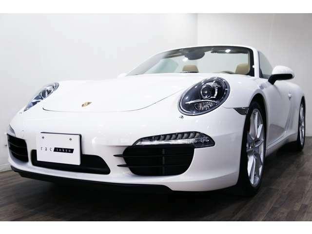 新車並行車 2012年モデル PORSCHE 911(991)カレラSカブリオレ 左ハンドル ホワイト/ルクソールベージュレザー/ブラックソフトトップ