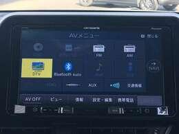 ◆【社外ナビ】CD/フルセグTV/Bluetooth/FM/AM