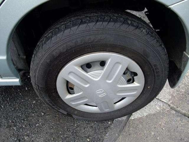 タイヤは・・・元気です・・・