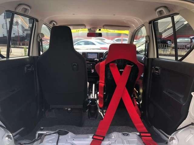 写真では2名仕様になっていますがワークスリアシートを保管していますのでご安心ください!!4名乗車登録です!!