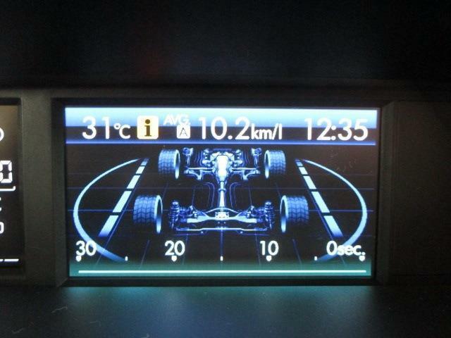 マルチファンクションディスプレイは走行に必要なさまざまな情報を表示します!